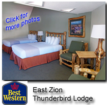 Lodging Zion National Park